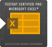 TestOut Pro Certified: Microsoft Excel® Course Icon