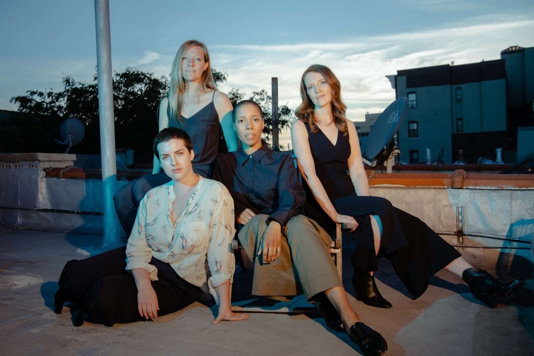 A photo of the band, the Overlook Quartet.