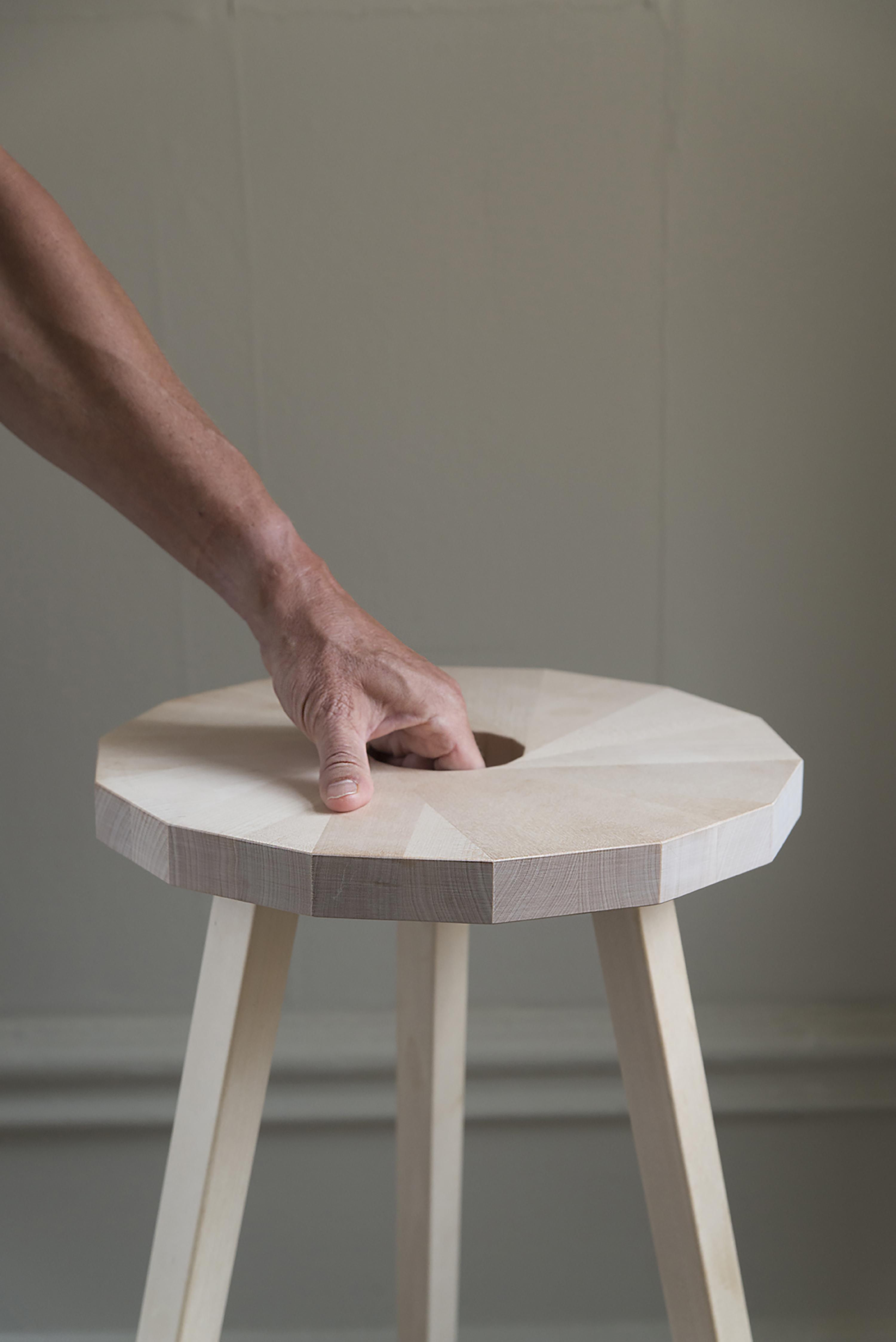 A photo of Lilla Snåland's stool, Circular future.