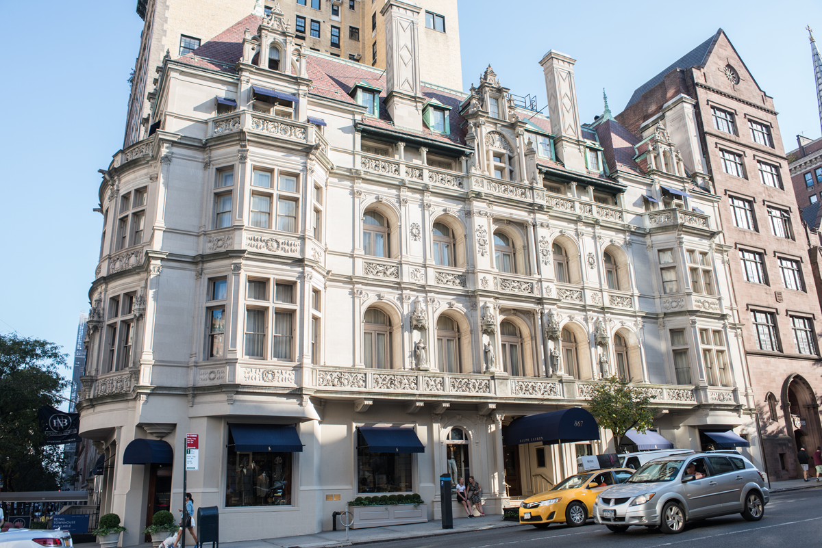 A photo of a building along Madison Avenue in New York City.