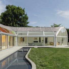 Full-color photo of Cocoon House by Nina Anker of nea studio.