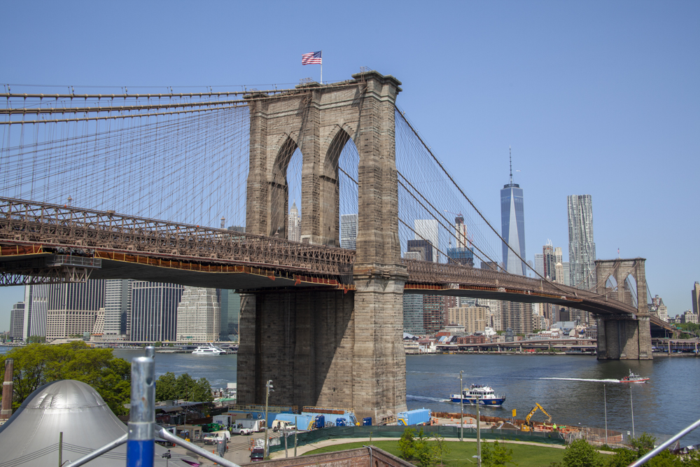Photo of the Brooklyn Bridge.