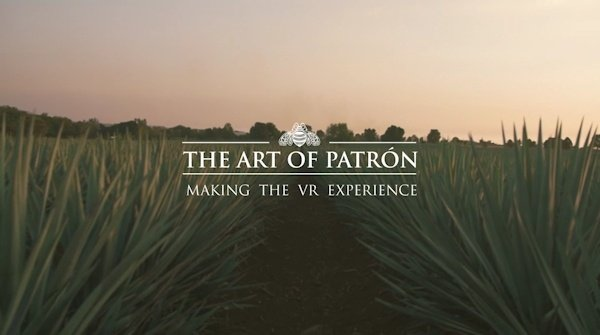 The Art of Patron VR Example