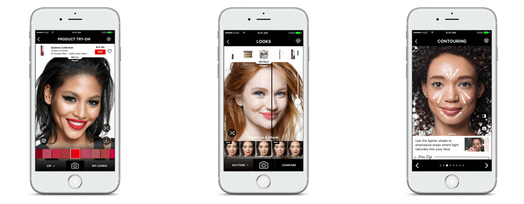 Sephora Augmented Reality App