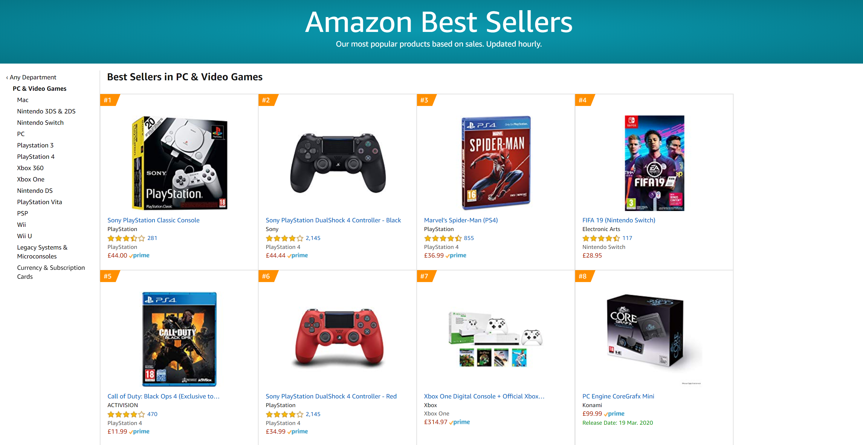 Amazon Best Selling Products