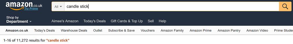 Amazon SEO Example