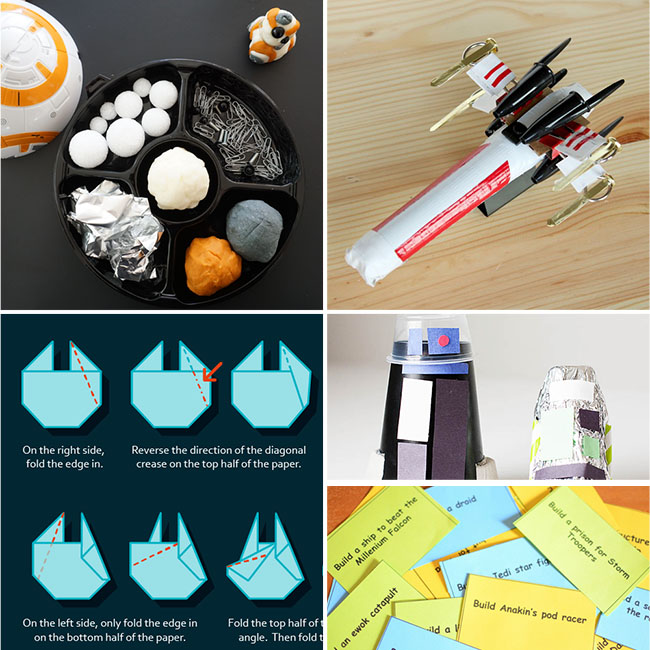 Star Wars STEM building activities