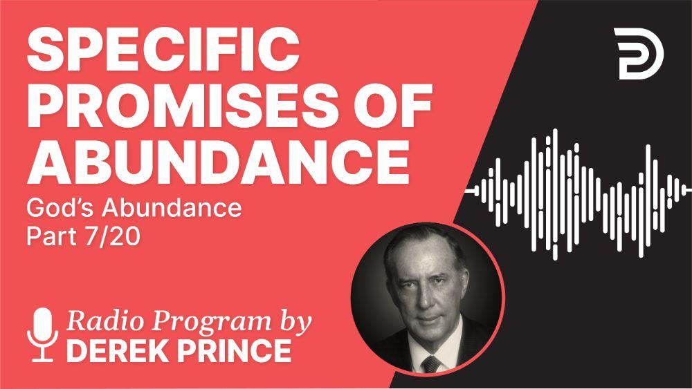 Specific Promises of Abundance