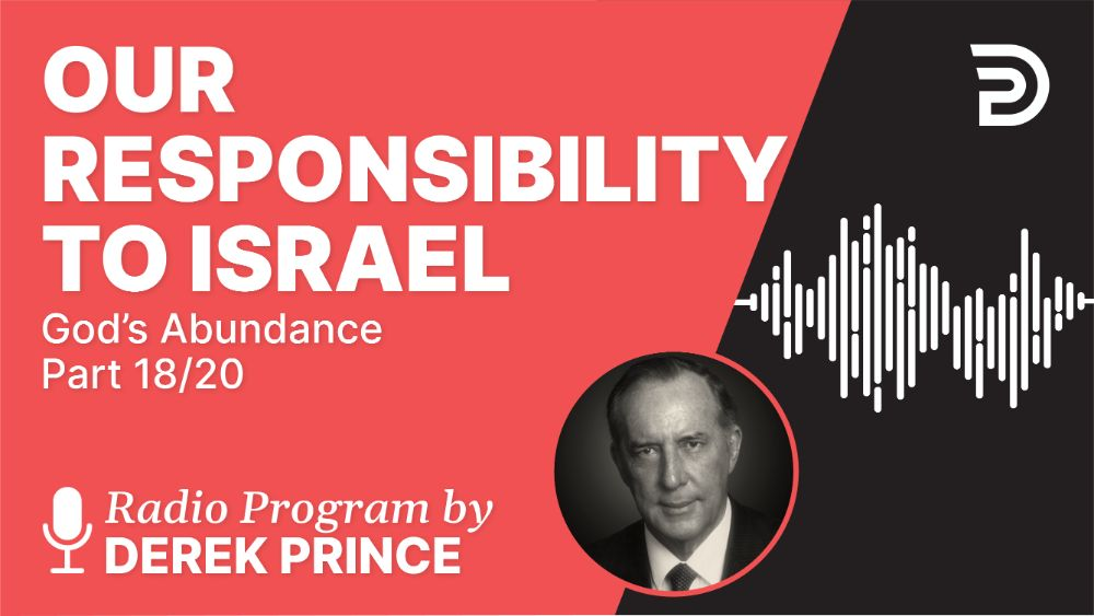 Our Responsibility to Israel