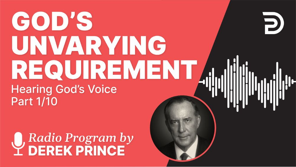 God's Unvarying Requirement