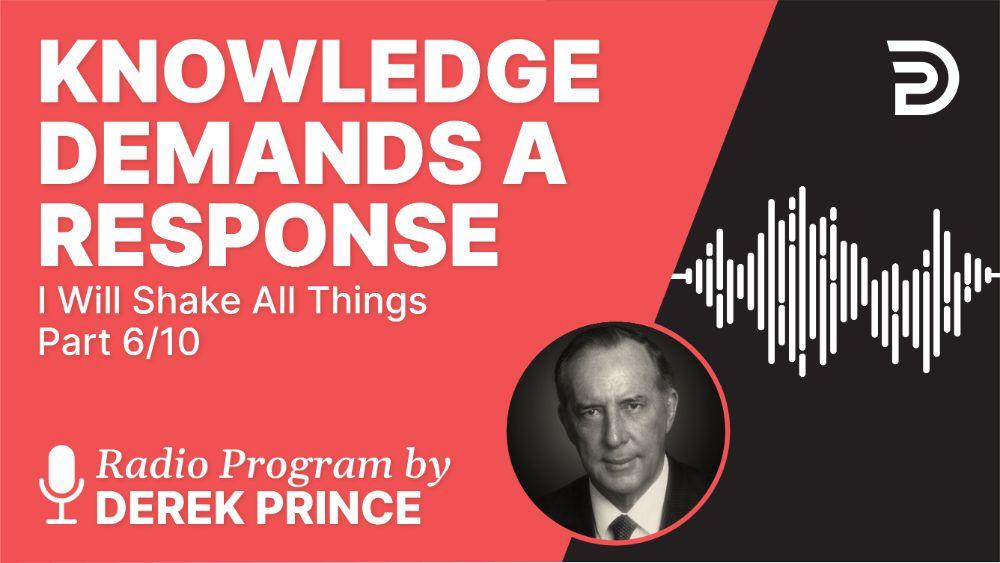 Knowledge Demands a Response