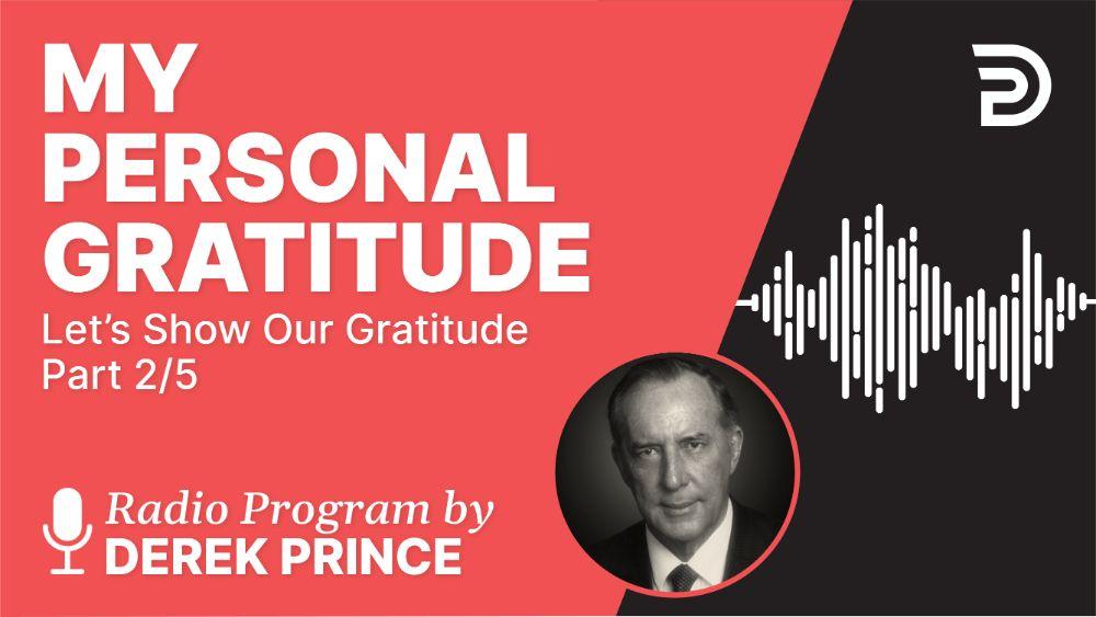My Personal Gratitude
