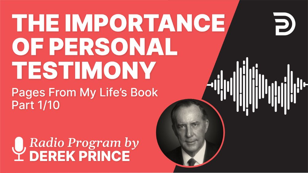 The Importance of Personal Testimony