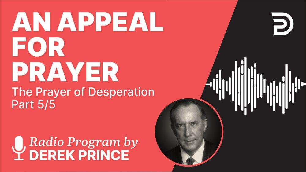 An Appeal for Prayer