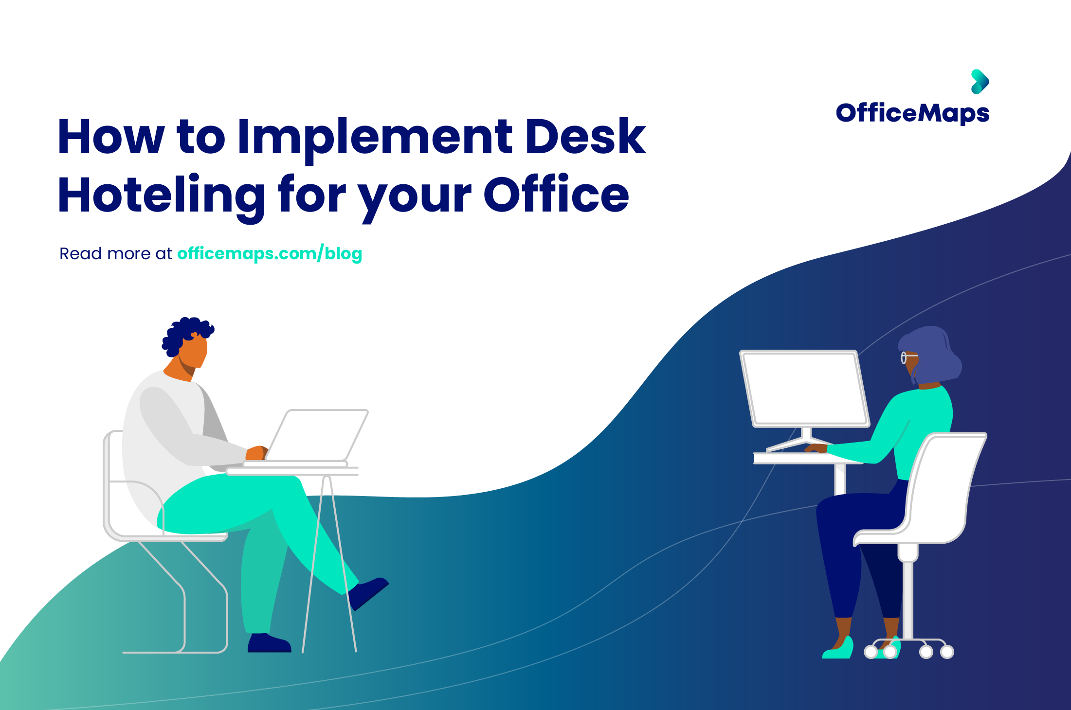 implement desk hoteling and hotdesking for your office with smart booking system software