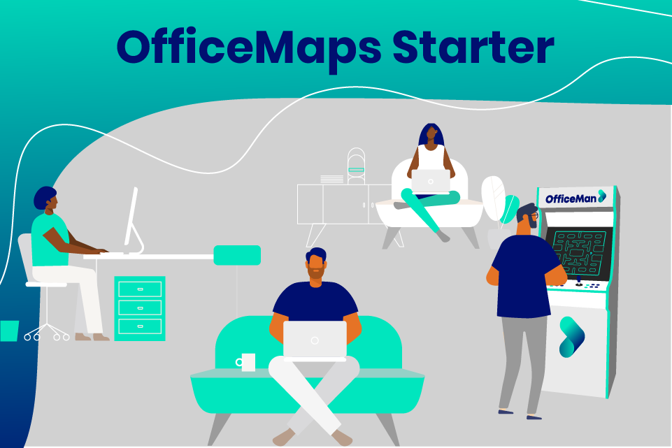 OfficeMaps Starter - Workplace Management Software for Small Businesses