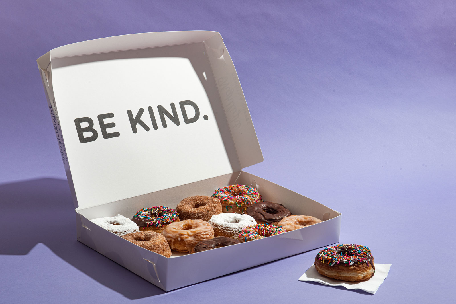 A box of our delicious donuts