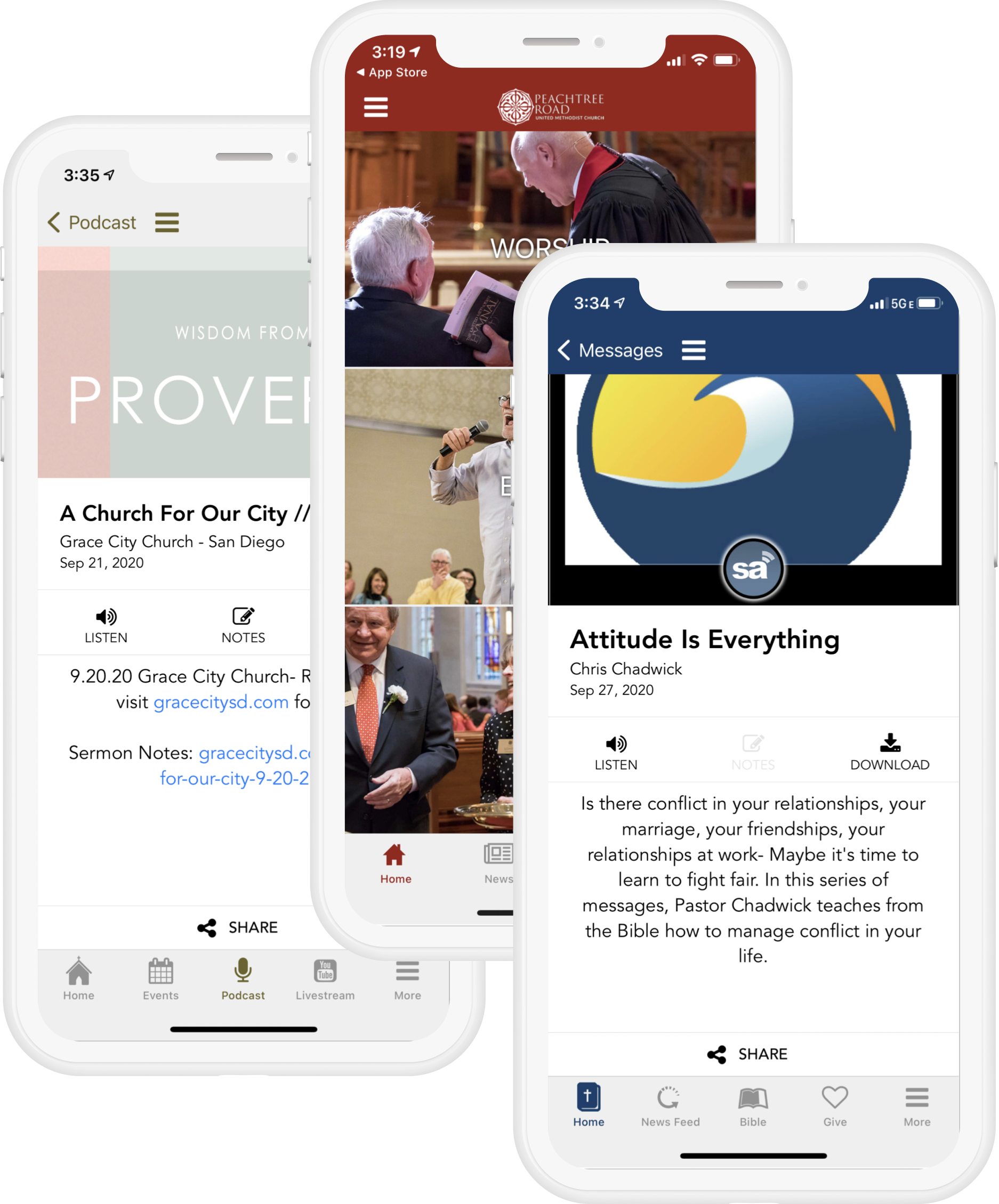 Sermon Media Player
