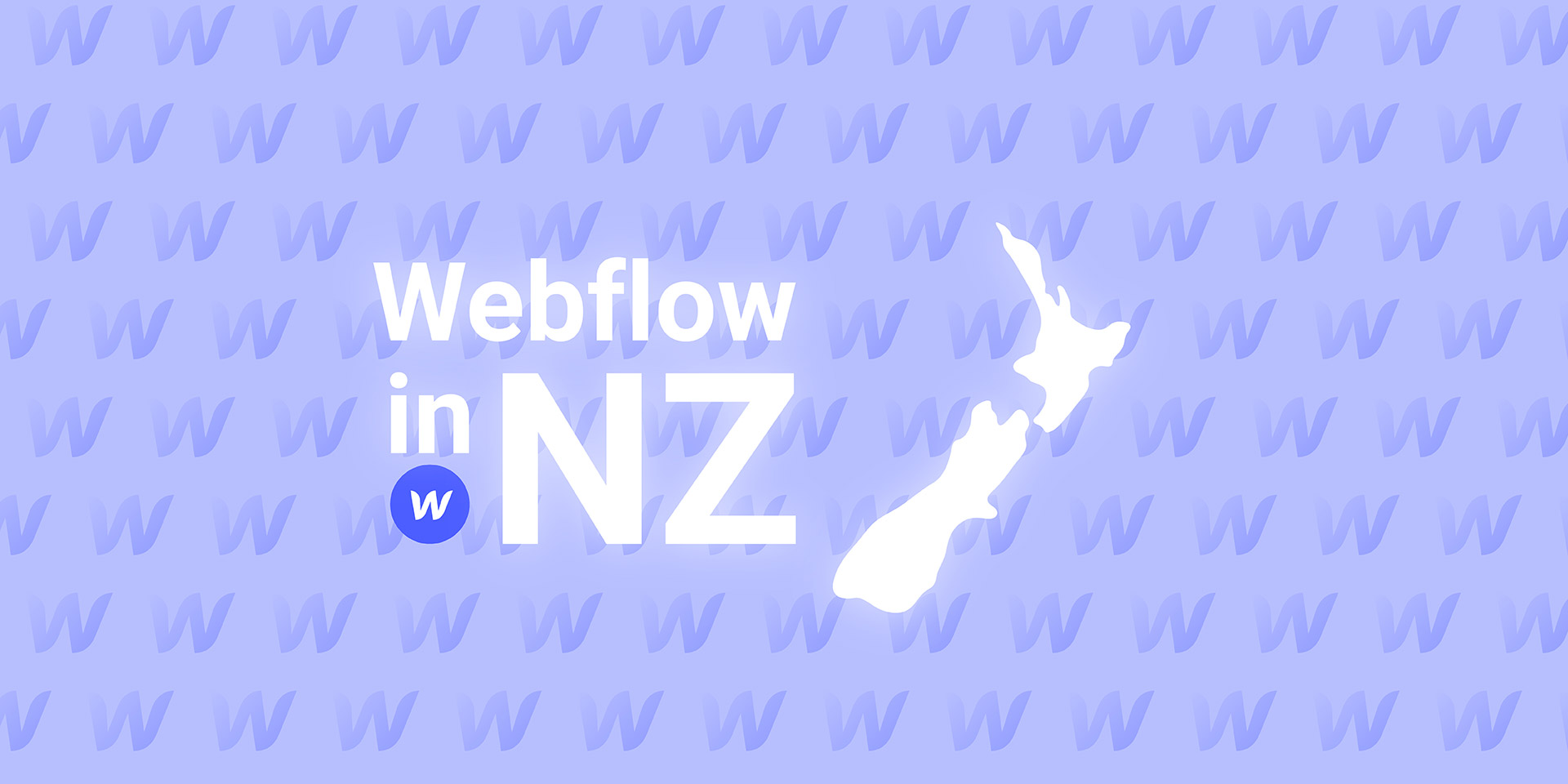 Webflow in NZ and a map of new zealand