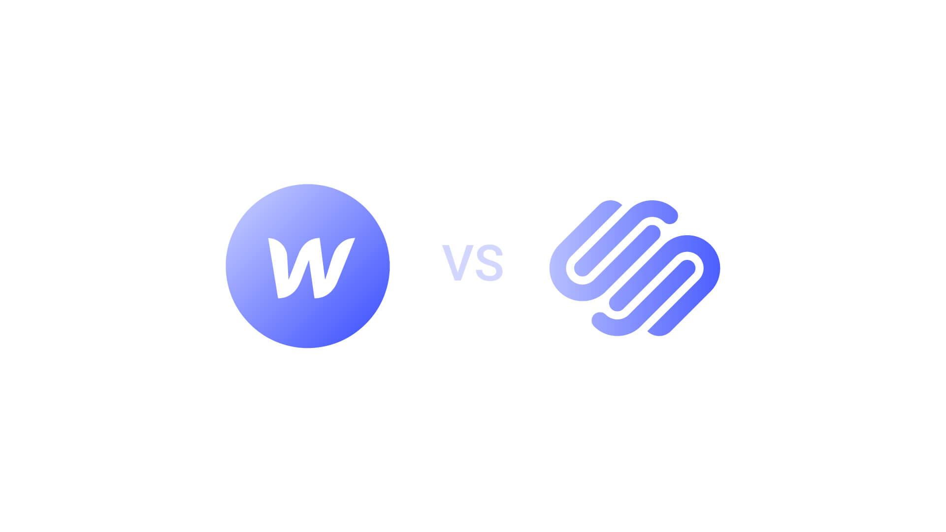 Webflow vs Squarespace