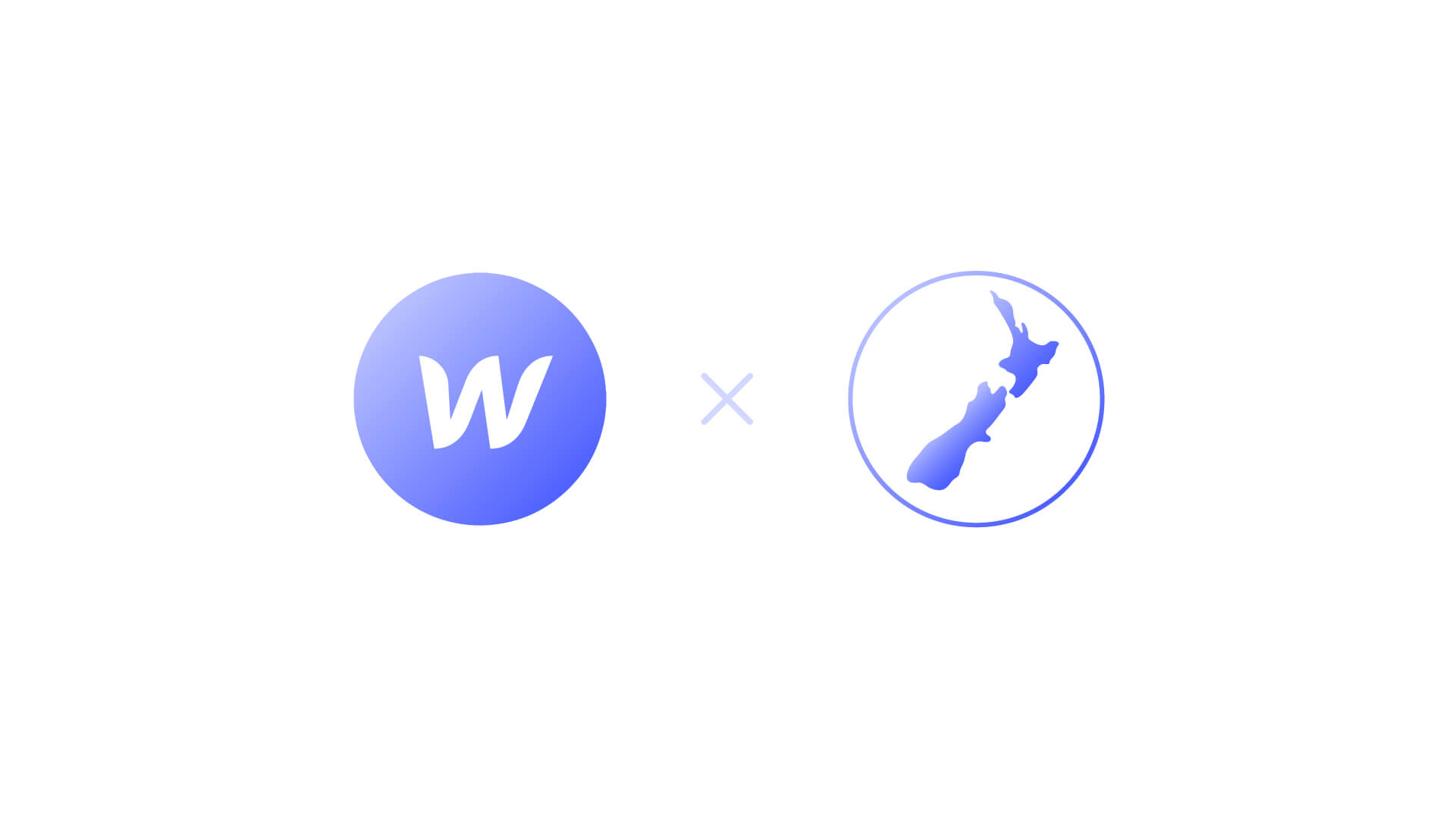 Webflow's logo and New Zealand's icon