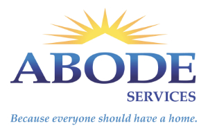 Blue text with a yellow sunburst above on white background