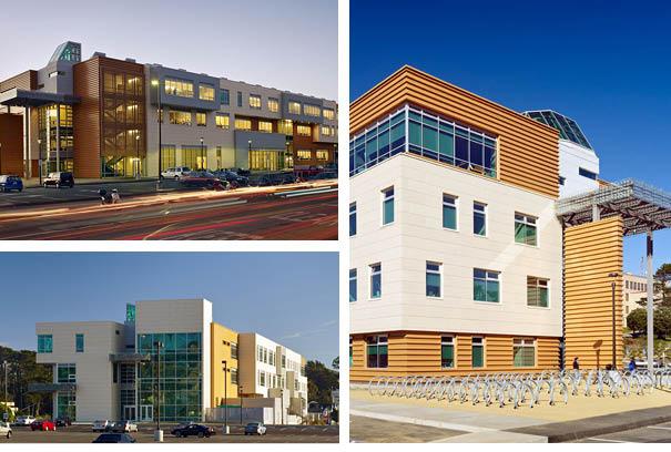 Three City college of San Francisco Buildings