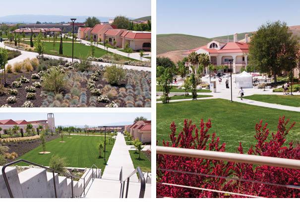 Three Las Positas College Buildings