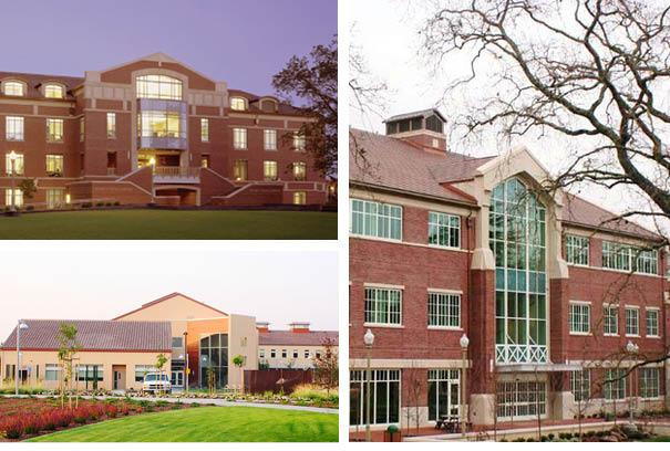 Santa Rosa Junior college buildings