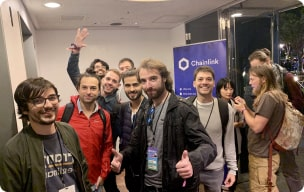 Chainlink community photo