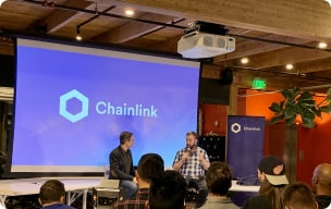 Panel during a Chainlink event