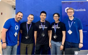Chainlink community members photo