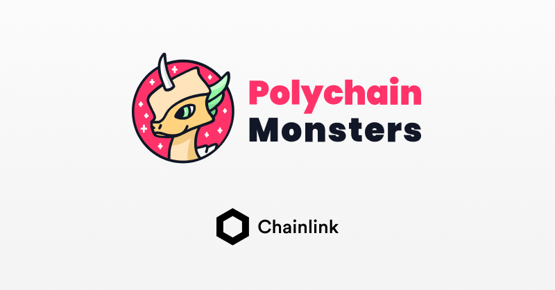Polychain Monsters and Chainlink integration banner