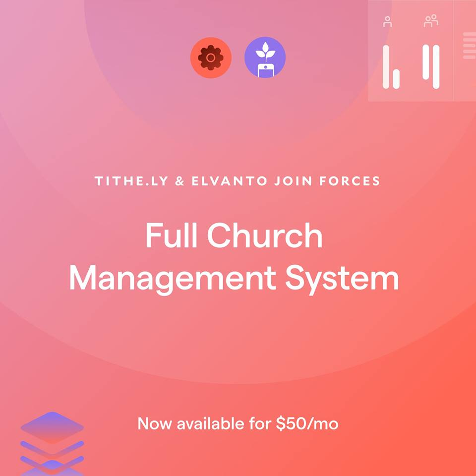 Hello, Tithe.ly Church Management!