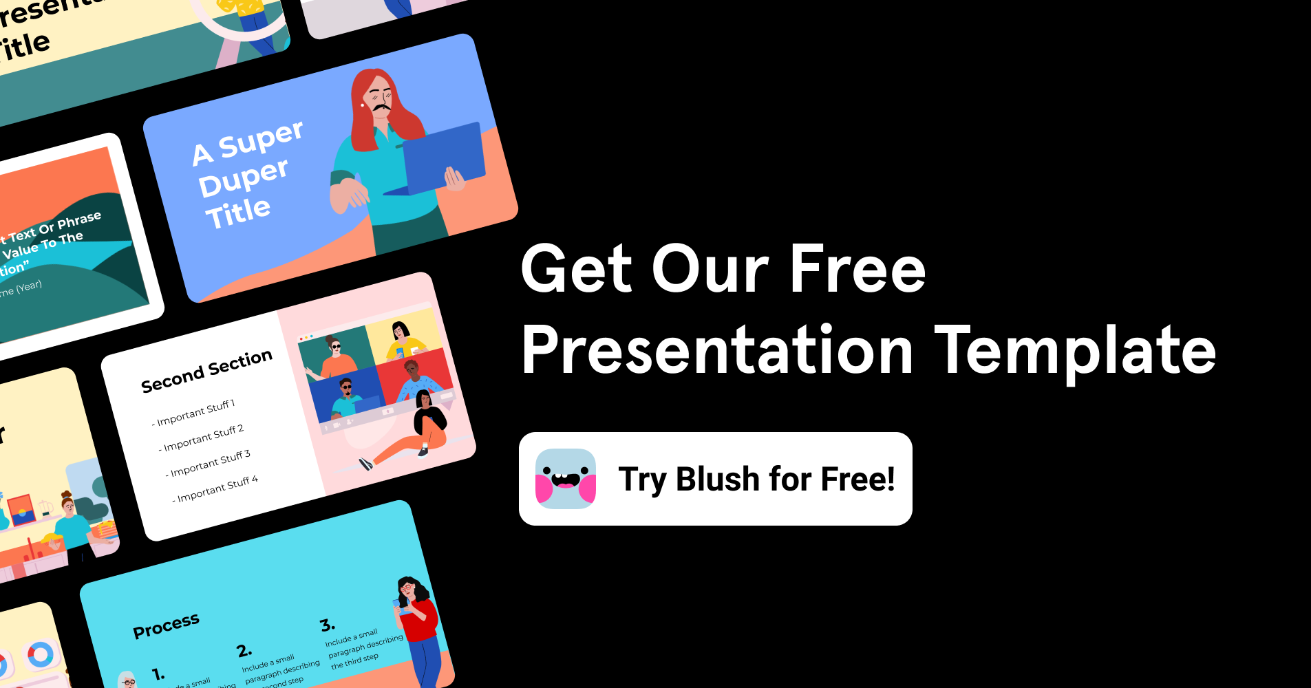 presentation template slides free