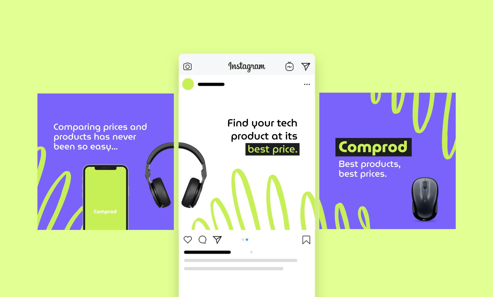 ads display design instagram