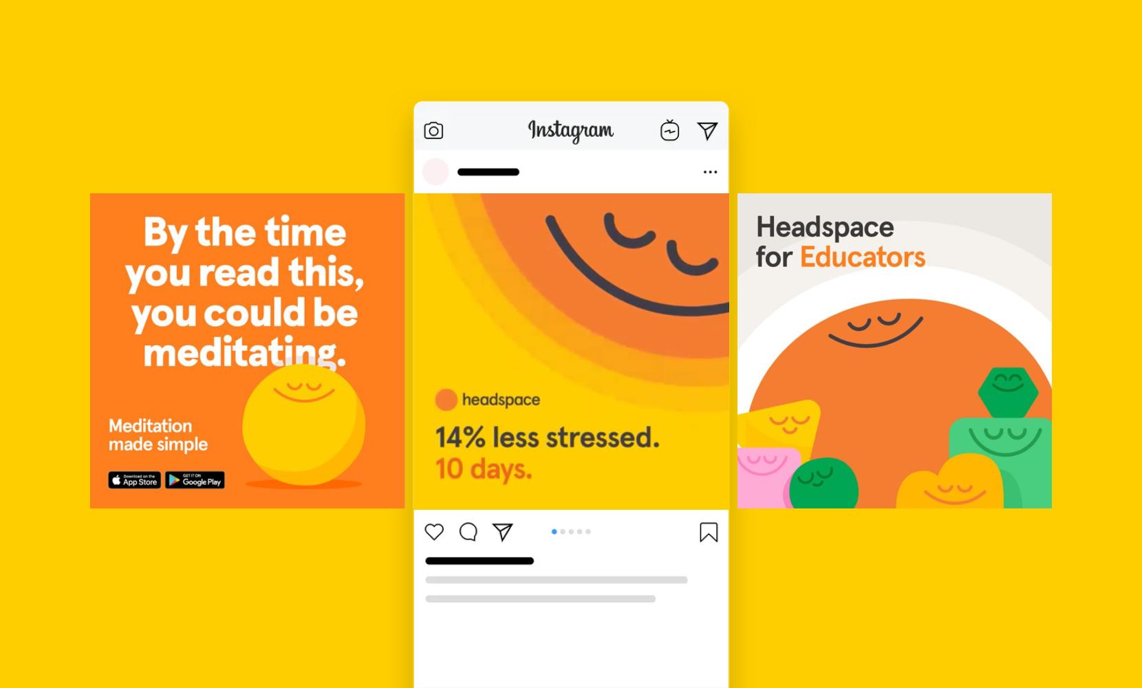 headspace ads design inspiration