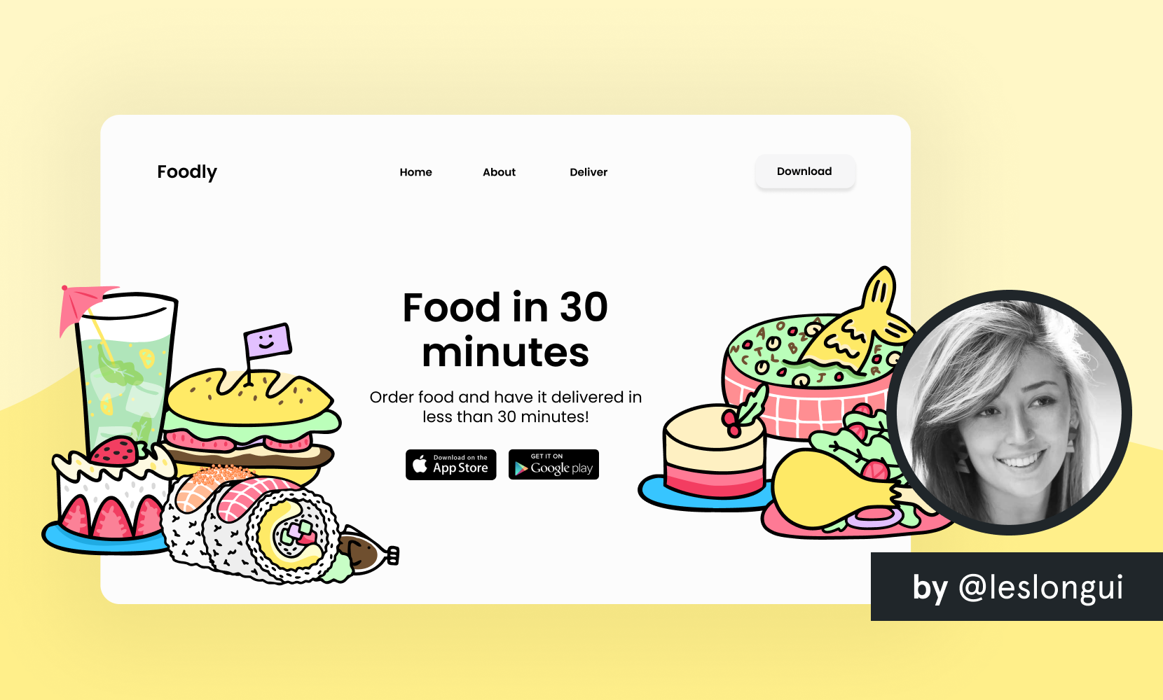 free illustration website food