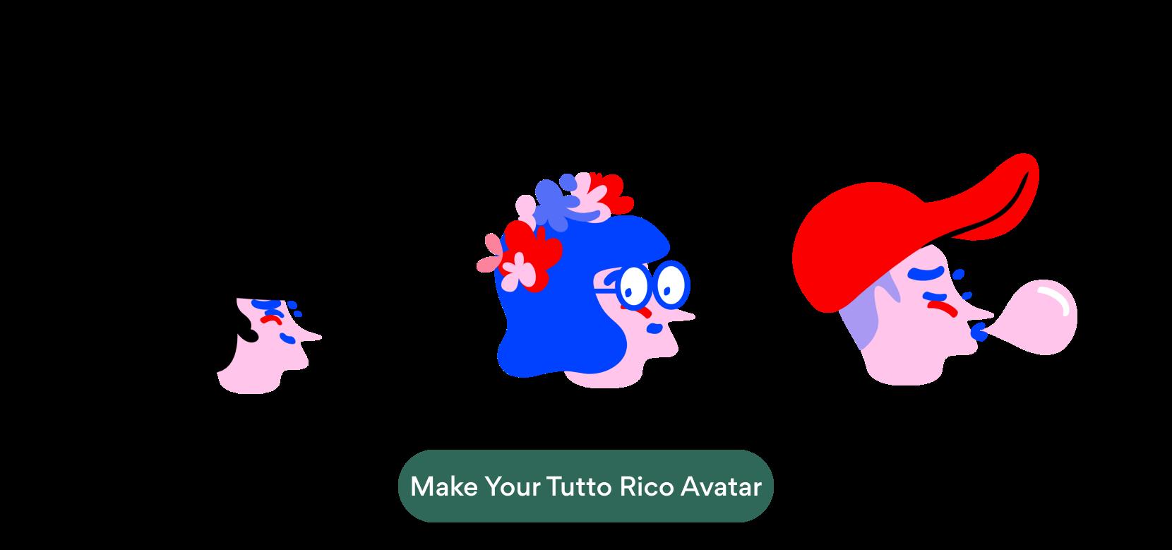 Make your Tutto Rico avatar