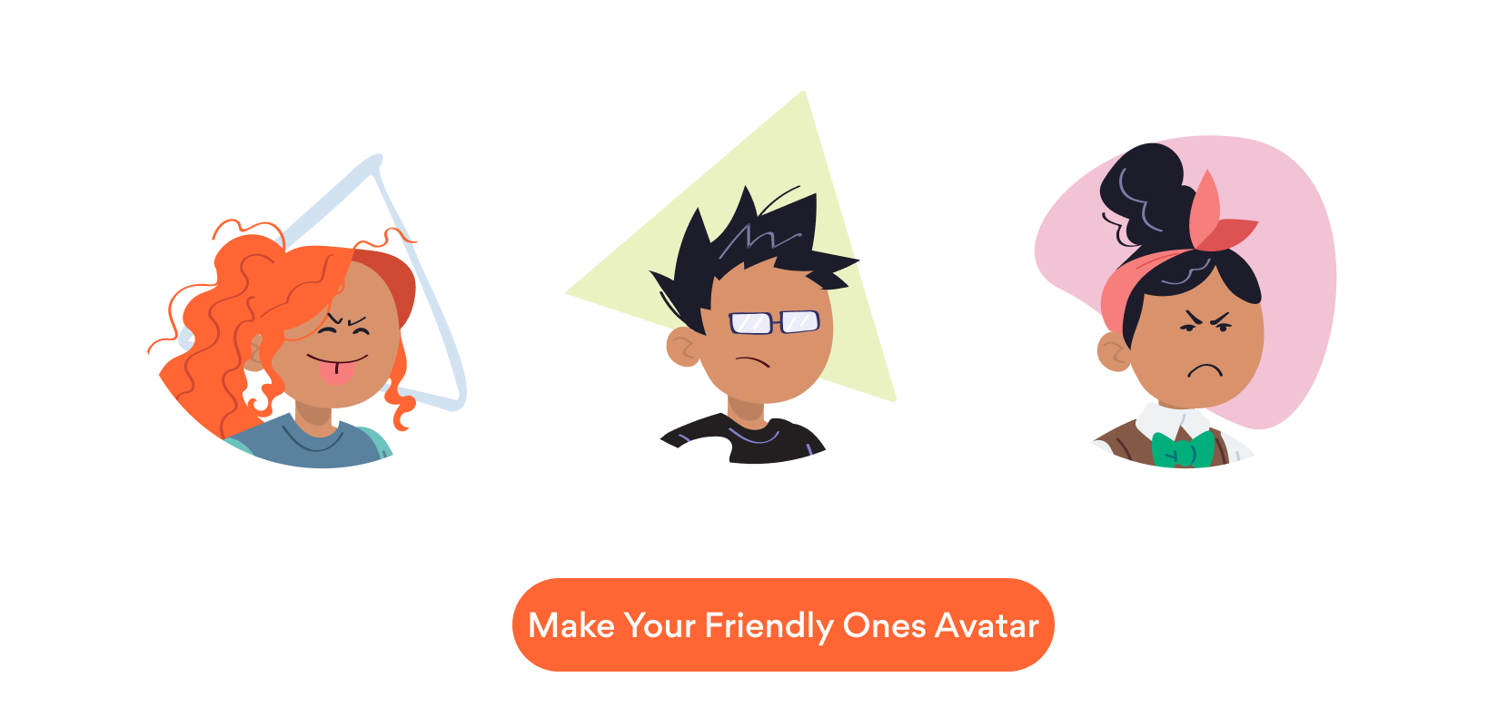 Make your avatar with Friendly Ones