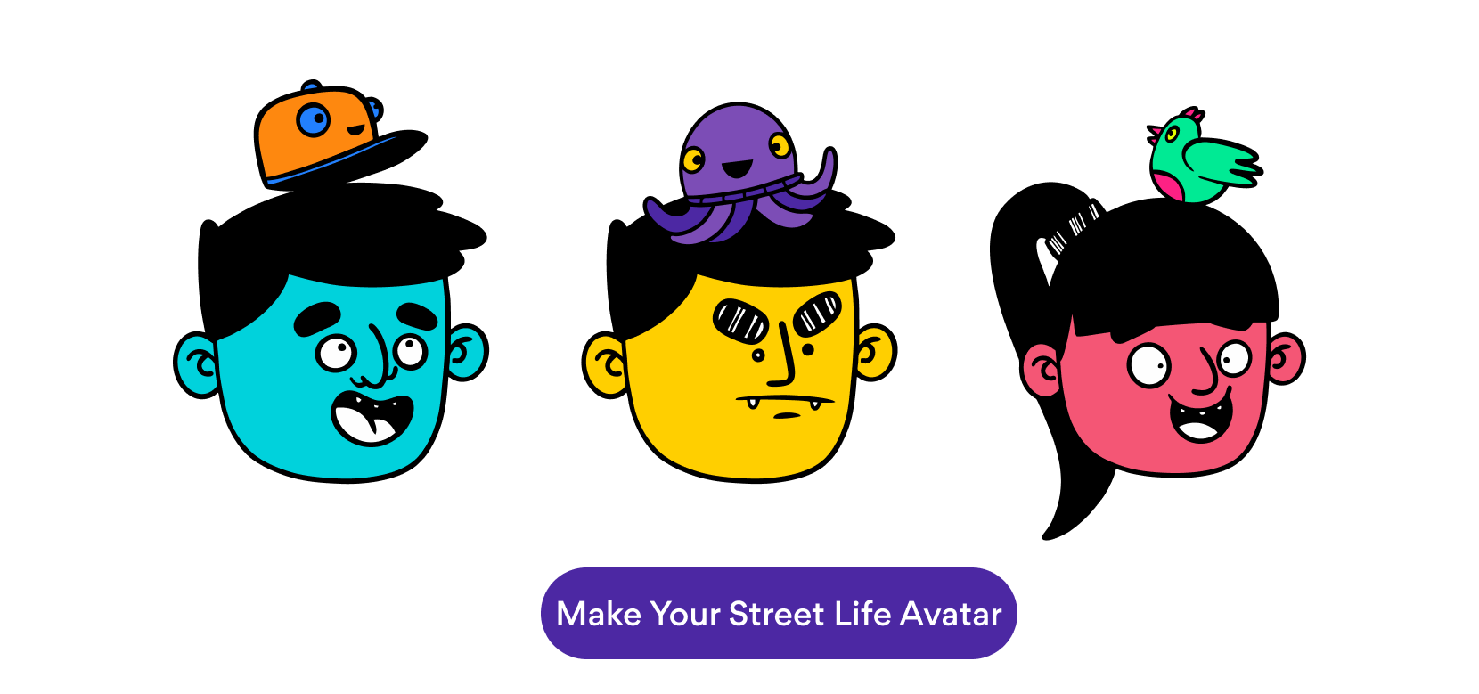 Make your avatar with Street Life