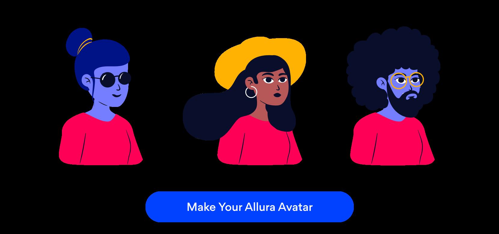 Allura avatars