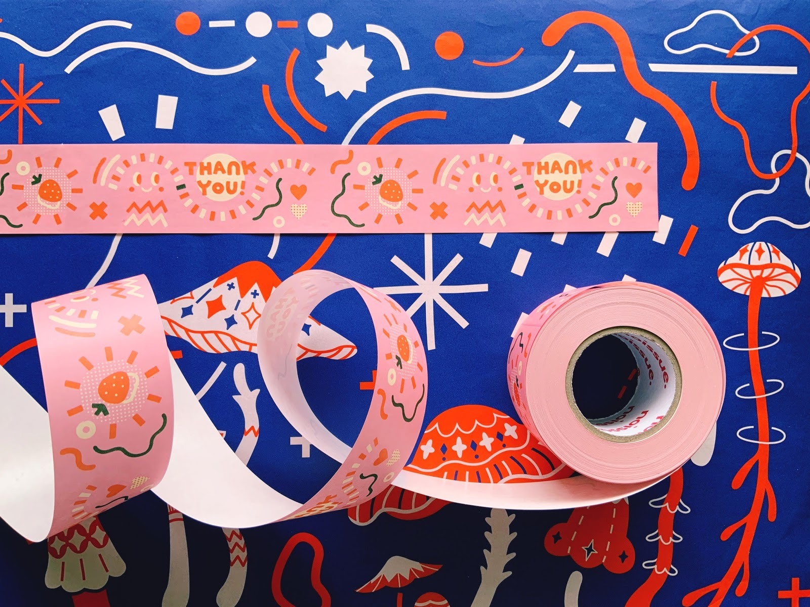 custom packaging tape from Noissue