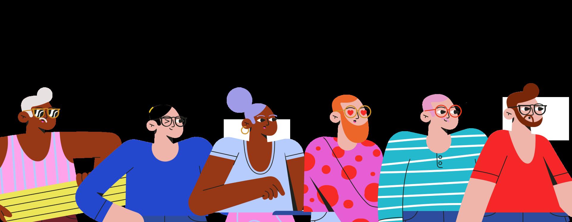 Amigos illustrations