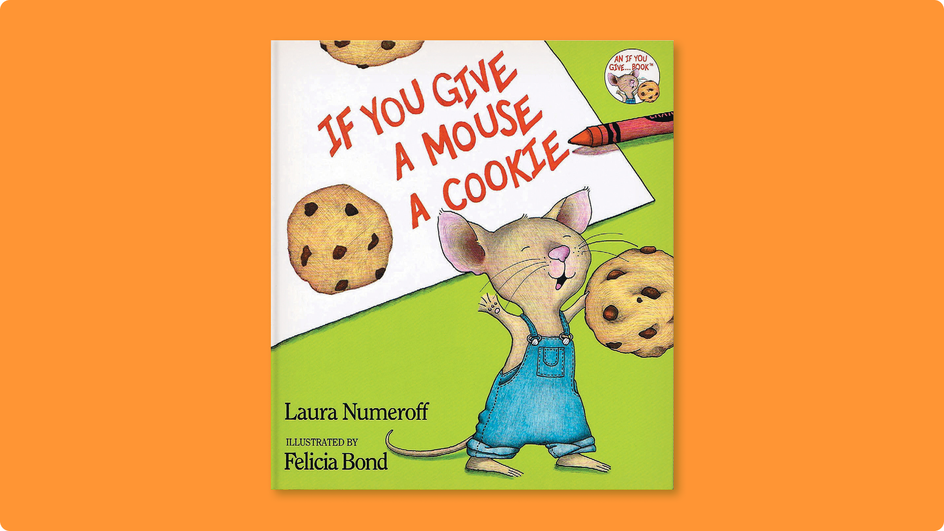 Cover art of Laura Numeroff's If You Give a Mouse a Cookie