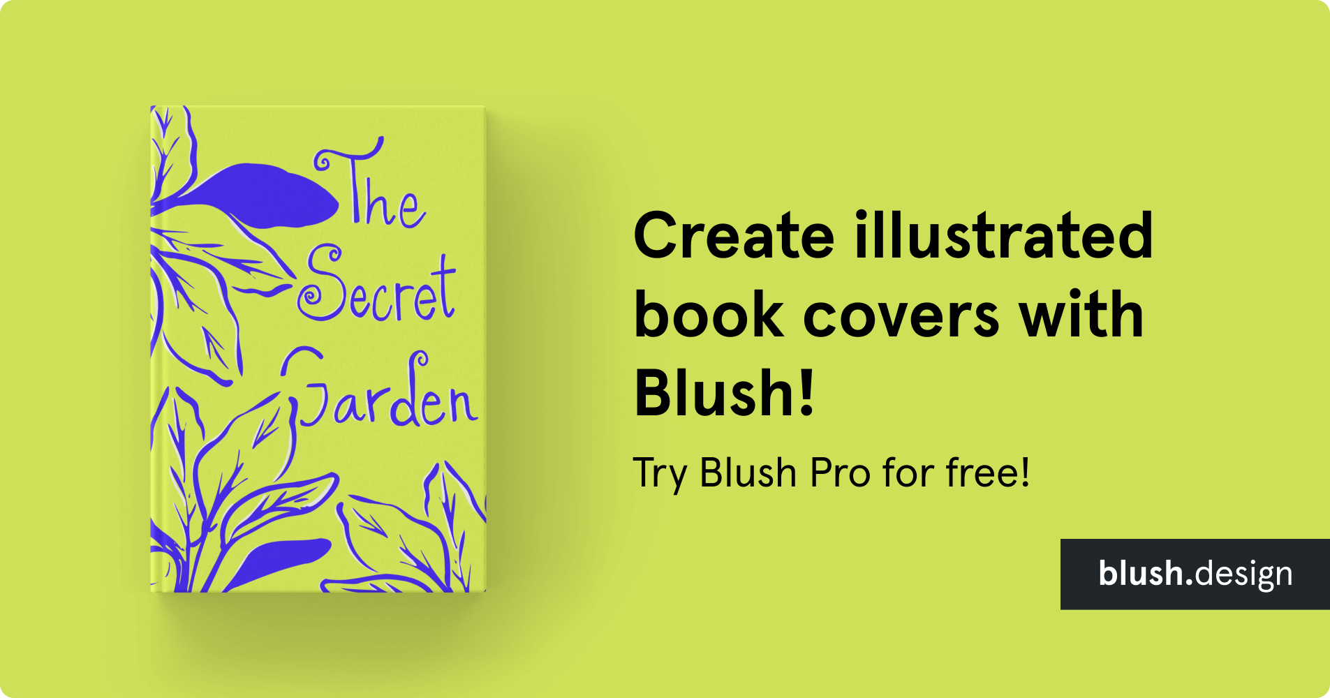 Create illustrated book covers with Blush! Try Blush Pro for free!