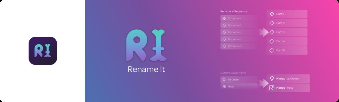 Rename It plugin for Figma