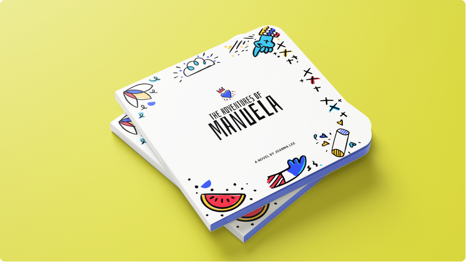 Cover of the book The Adventures of Manuela by Joanna Lee featuring Miroodles illustrations