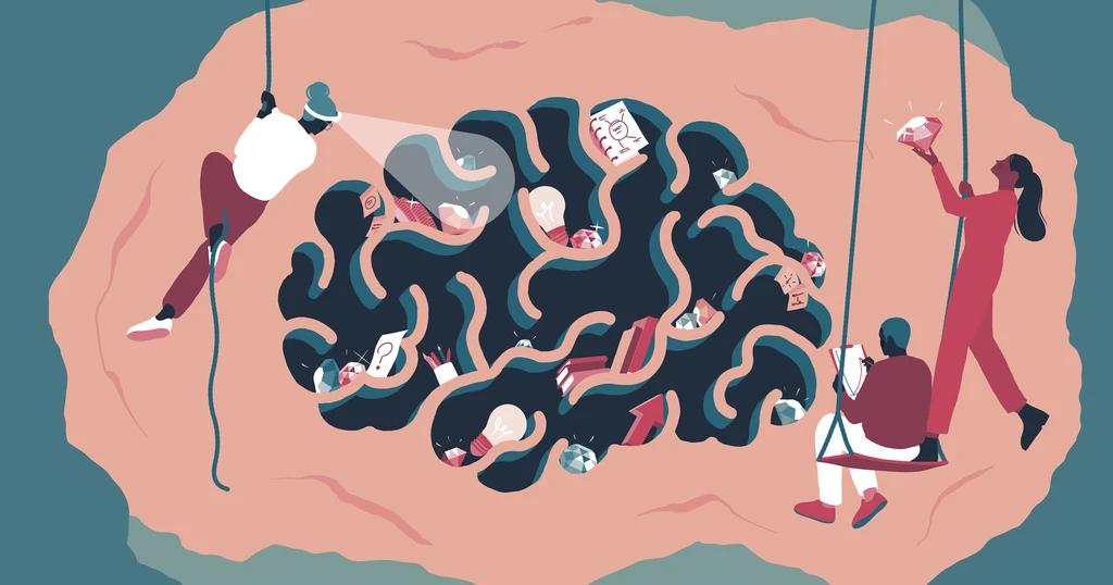 Conceptual illustration on Shopify's blog