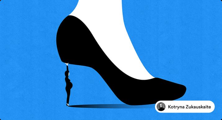 Editorial illustration for the Washington Post by Kotryna Zukauskaite